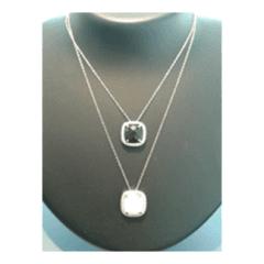 Collane in argento 925 pietre dure e zirconi