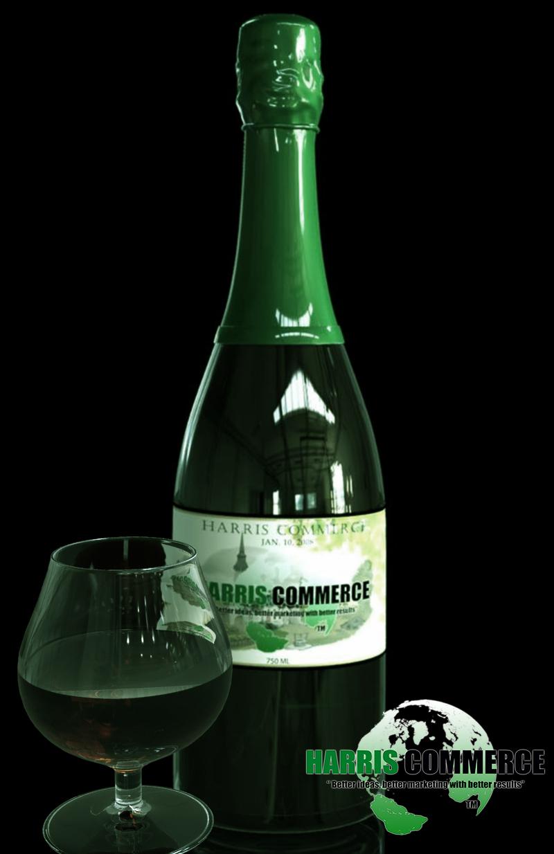 sample wine bottle
