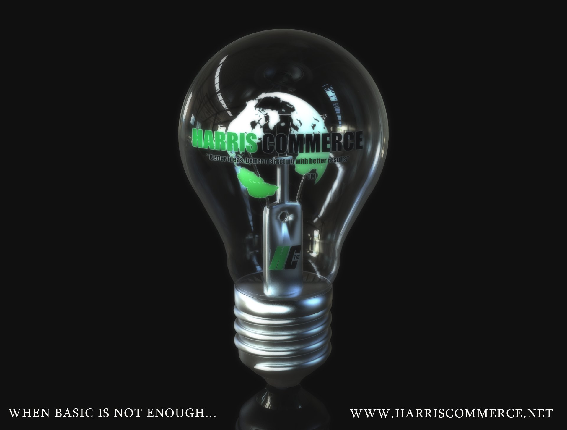 3D still animation light bulb