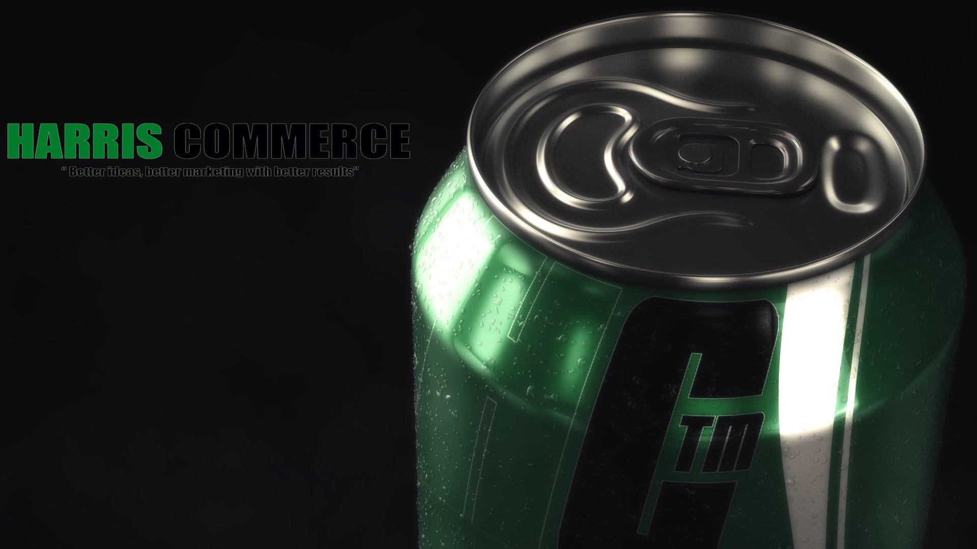 3D still animation soda can