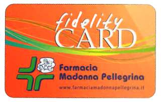 Madonna Pellegrina pharmacy awards catalogue