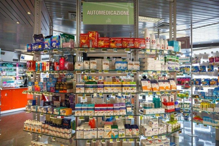 reparto prodotti di automedicazione