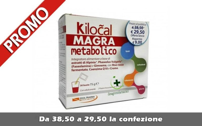 Kilocal magra metabolico