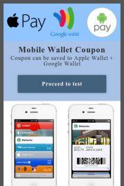 Moible Wallet digital coupon