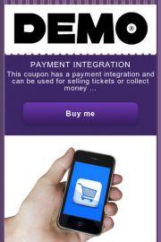Payment intergration Digital Coupon