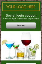 Social login Digital coupon