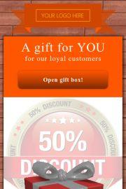 Gift digital coupon