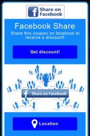 Viral digital coupon