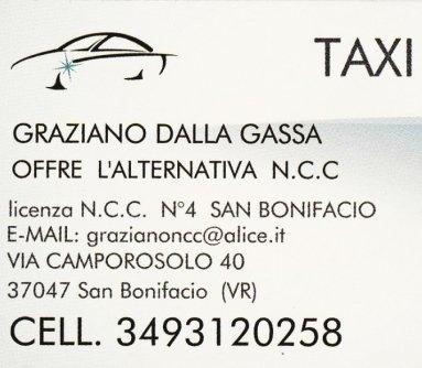 taxi autonoleggi san bonifacio