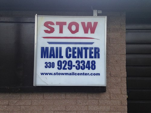 Mail center board in Stow, OH
