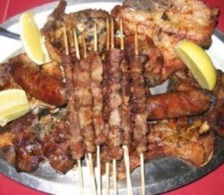 carne arrosto, carne alla griglia, arrosticini