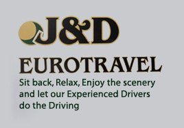 J and D Eurotravel Company Logo