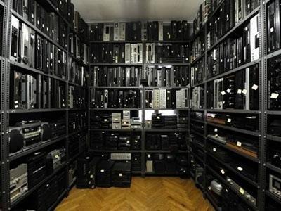 magazzino ricambi VCR