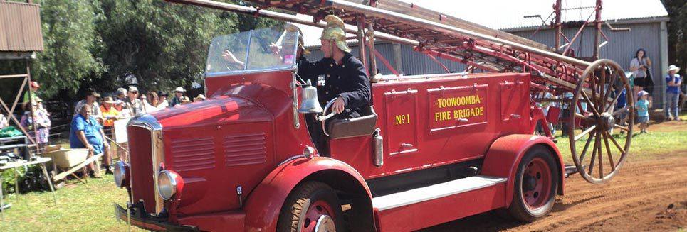 toowoomba fire brigade events