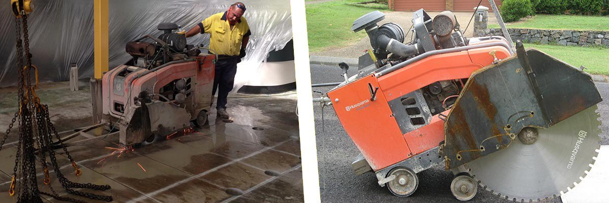 professional floor sawing services