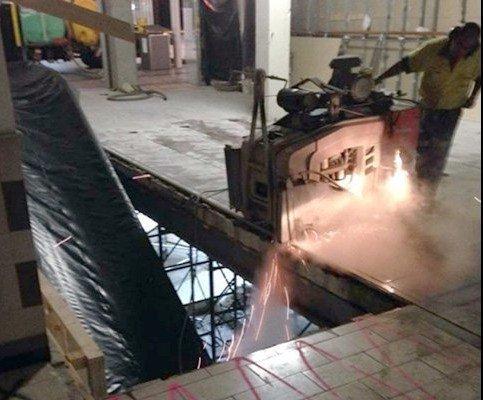 allcut concrete cutting qld pty ltd industrial works