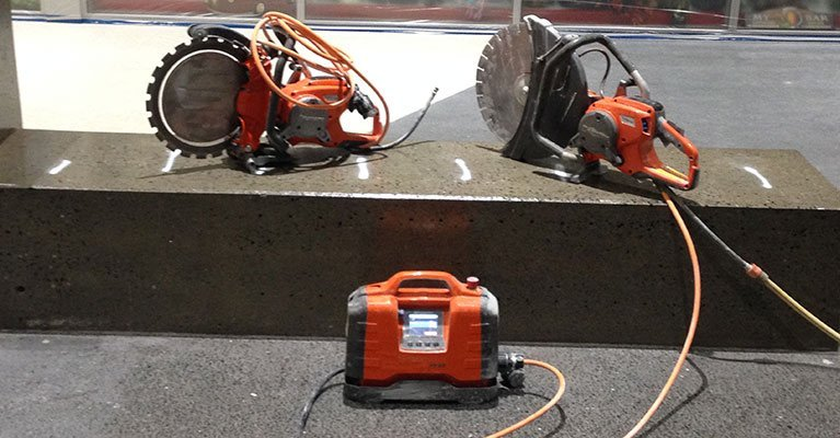 allcut concrete cutting qld pty ltd electric hand sawing tools