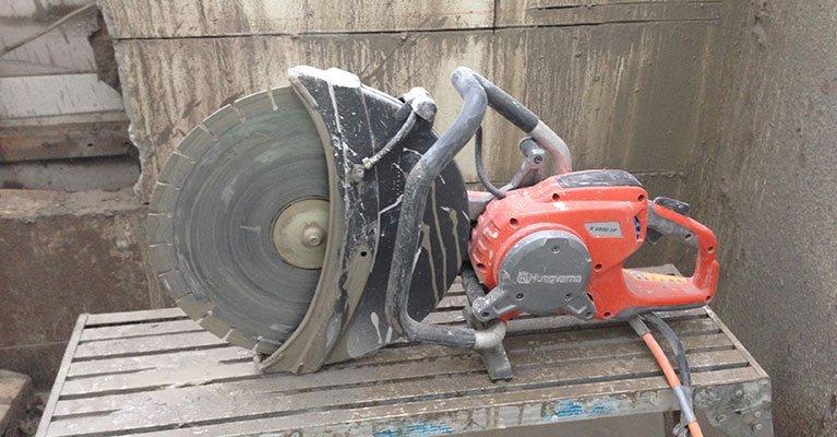 allcut concrete cutting qld pty ltd electric hand sawing equipment