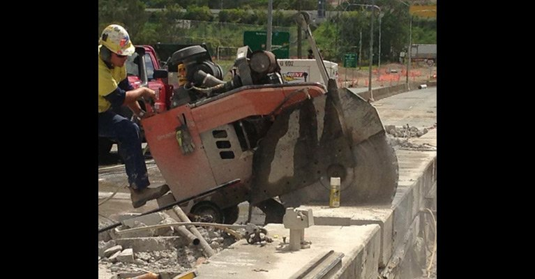 allcut concrete cutting qld pty ltd road site works