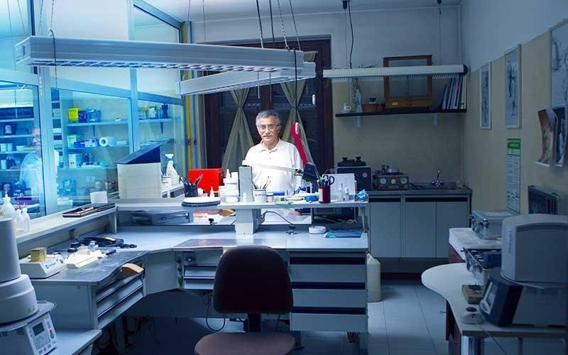 il laboratorio del dentista