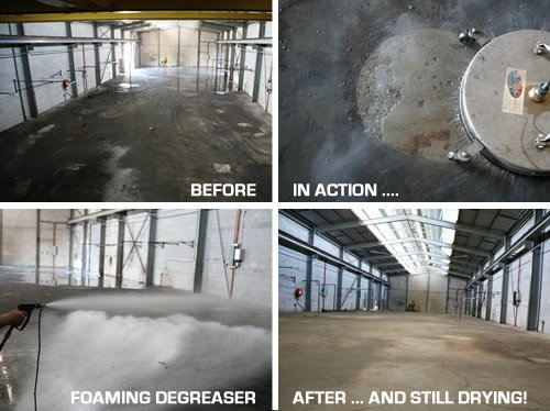 Industrial Floor Cleaning Services. Heavy duty degrease work using heavy-duty industrial cleaning agents. Industrial cleaning services that get the job done.