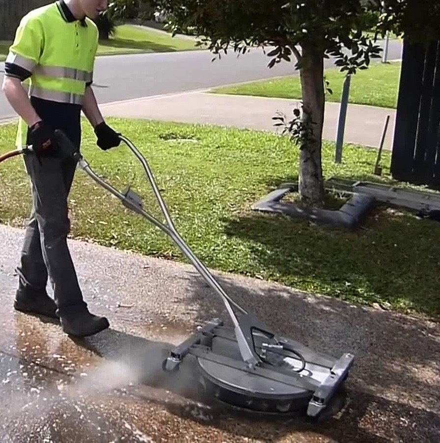 Driveway and concrete cleaning for What to clean concrete with