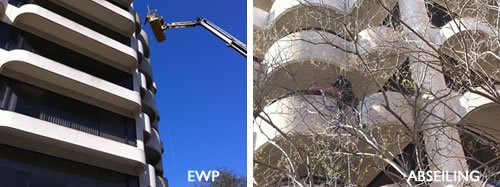 Facade Cleaning | Wall Cleaning | Building Wash-Down | Bird Dropping Removal
