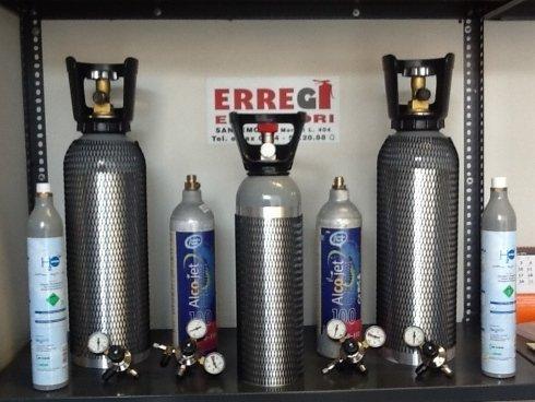 Riduttori di pressione per gasatori ed acquari