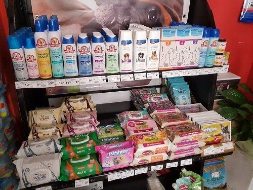 dei prodotti per animali