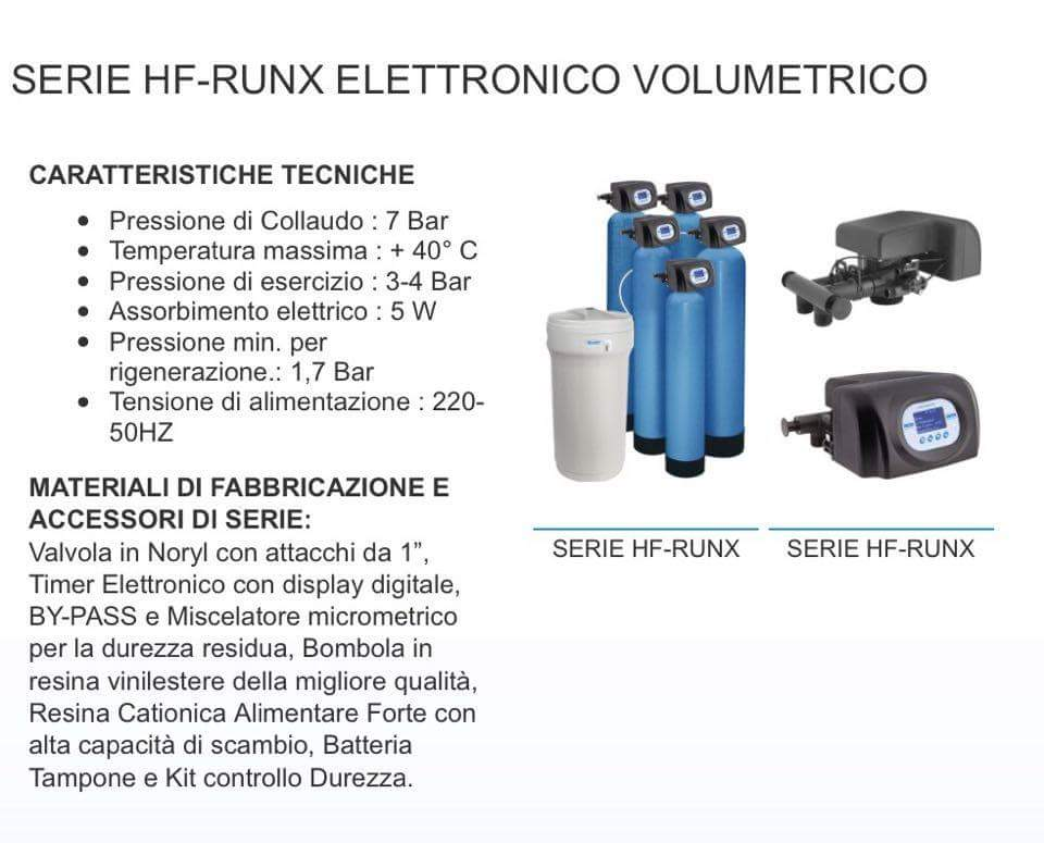 Serie HR-Runx elettronico volumetrico