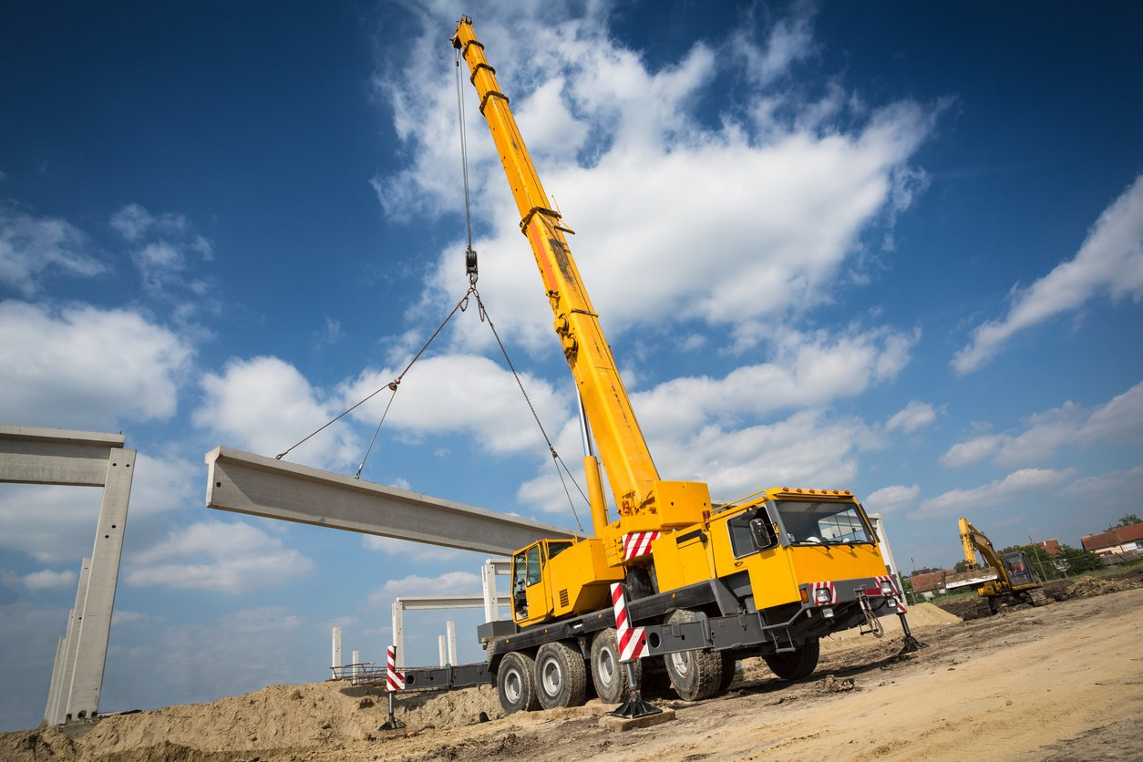 Mobile crane repair | non-destructive testing