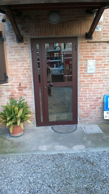 Porte A Vetro Condominiali Modena Fb Di Bizzarri Franco