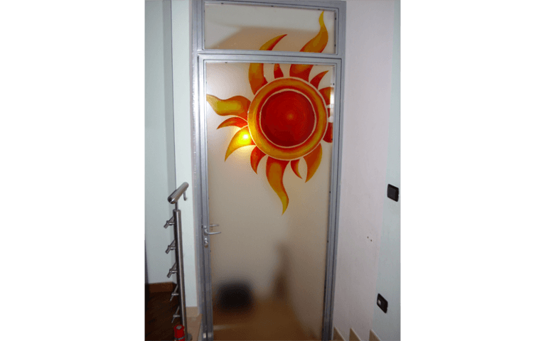 Porte vetro ingresso