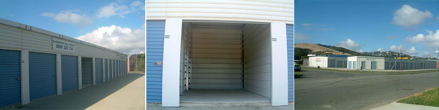 Our self storage in Wellington