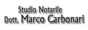 STUDIO NOTARILE DR. MARCO CARBONARI - LOGO
