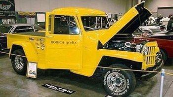 1953 Willy's Pickup Awards
