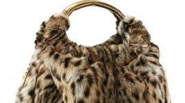 borsa in pelliccia, accessori in pelliccia, capi in pelliccia