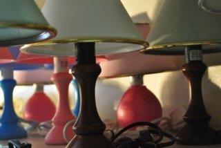 lampade in tessuto