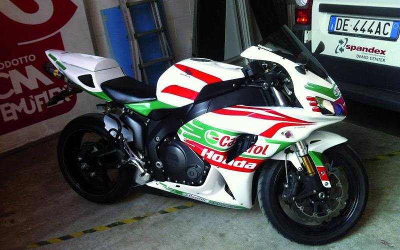 wrapping parziale moto