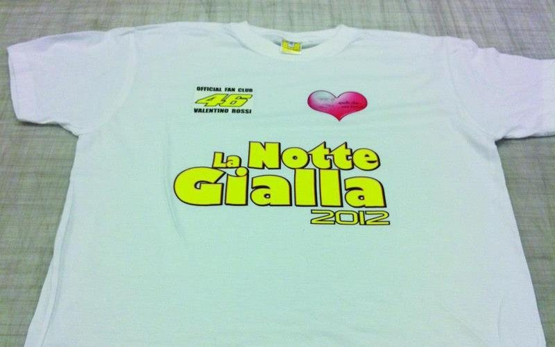 stampa serigrafica su t-shirt