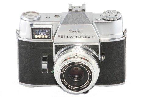 Kodak retina reflex III con Ysarex 50 f 2,8