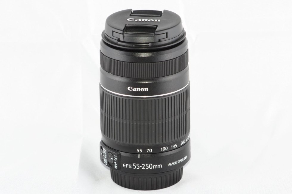 Canon 55-250 is