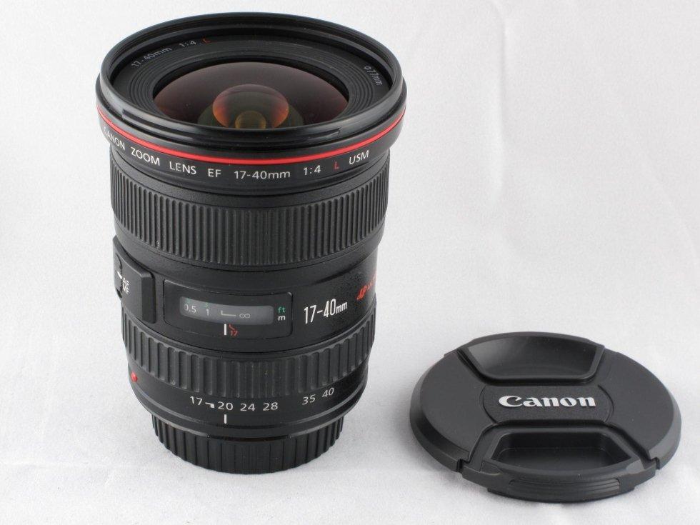 Canon 17-40 f4 L