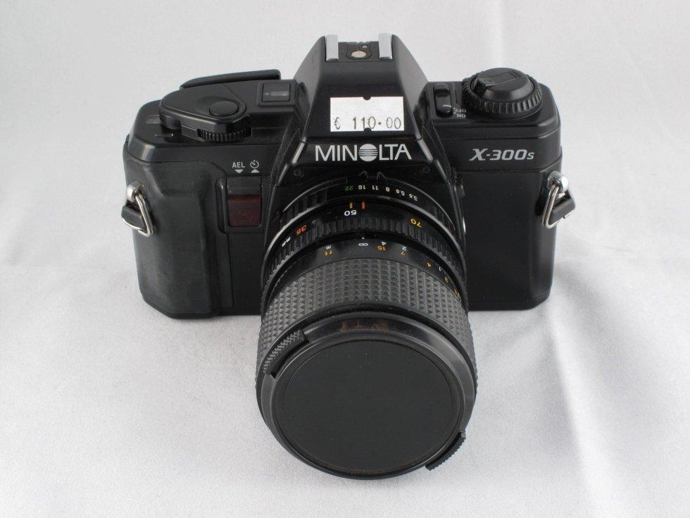 Minolta x300s con ob zoom