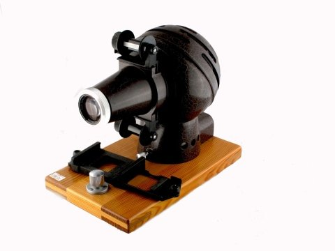 Proiettore dia Zeiss con obiettivo T
