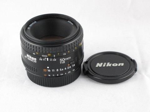 Nikon AF 50 f1,8