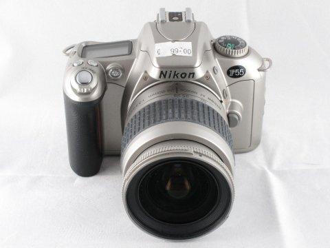 Nikon F55 kit con obiettivo
