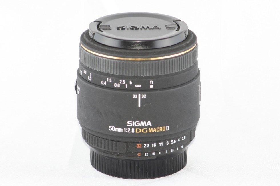 Sigma 50 f 2,8 macro