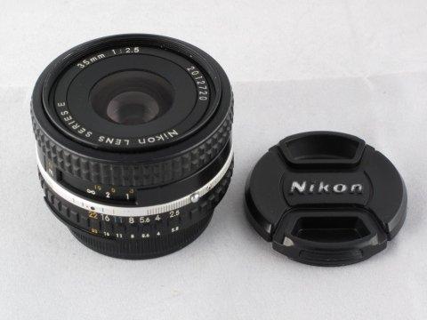Nikon serie E 35 f 2,5
