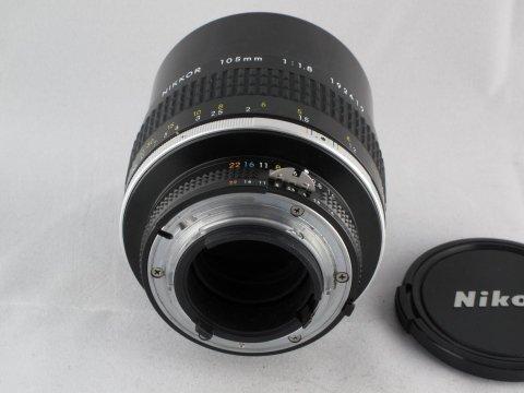 Nikon 105 f 1,8